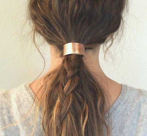 Best Hair Cuffs Ideas On Pinterest Hair Pieces Head Piece - Ponytail cuff diy