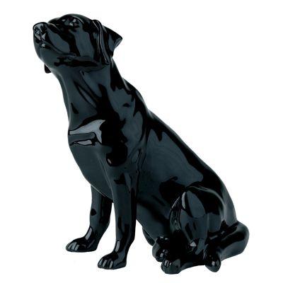 Black Lab John Beswick Figurine
