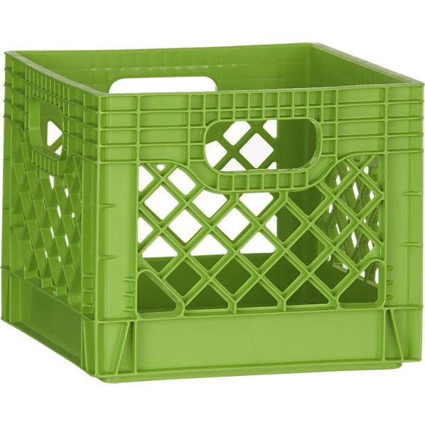 Davina medium olive green glass vase milk crates and crates for What to do with milk crates