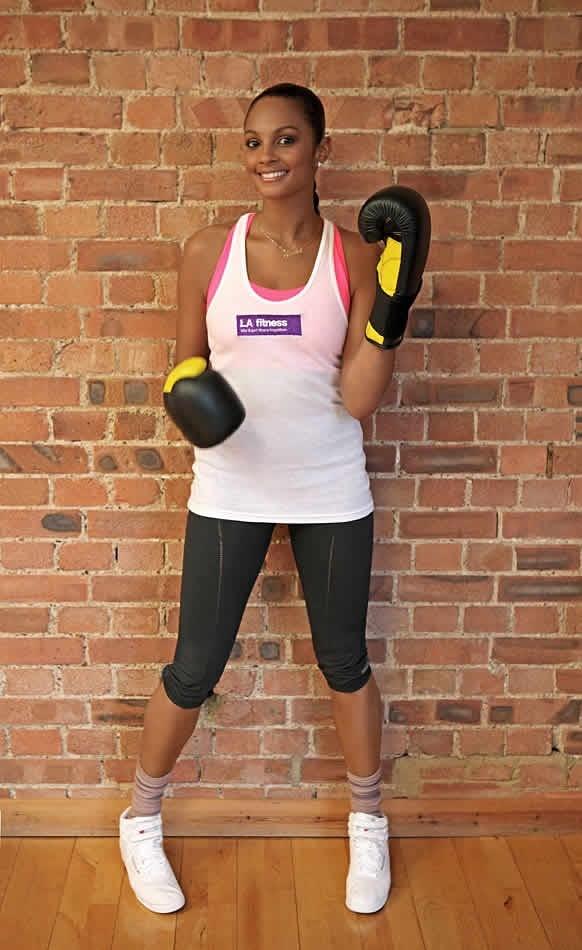 Alesha Dixon For La Fitness La Fitness Fitness Personal Trainer