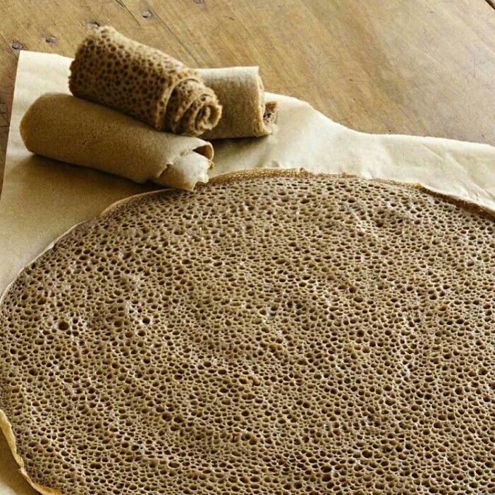 TEFF in it's original recipe ENJERA. Teff is an ancient grain from Ethiopia and is added into the staple, ENJERA. 2/3's of their intake is Teff. Remember some of the best long distance runners are from Ethiopia ☺ which is where Lydia is from also. We are the Teff experts trust us.  #teff #Lydiateff #quinoa #enjera #ancientgrain #vegan #vegetarian #gfree #friday #runners #chia