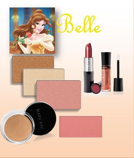 Belle themed Mary Kay color set. http://www.marykay.com/lisabarber68 Call or text 386-303-2400