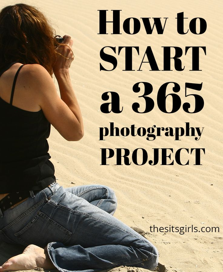 Jumpstart your creativity and work on your photography skills by participating in a 365 Photography Project. Start today! You don't have to wait until the beginning of the year!  Photography Tips