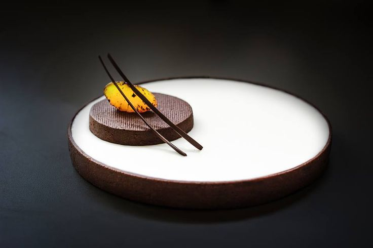 Tarte au Chocolat Gianduja, Madarin, Cointreau via Pop Chocolate