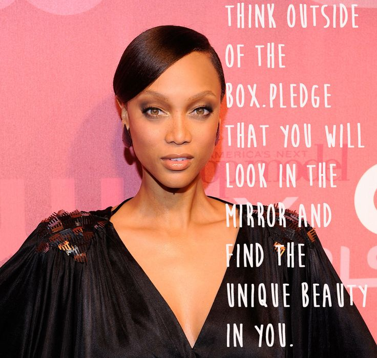 Tyra Banks. | 29 Celebrities Who Will Actually Make You Feel Good About Your Body