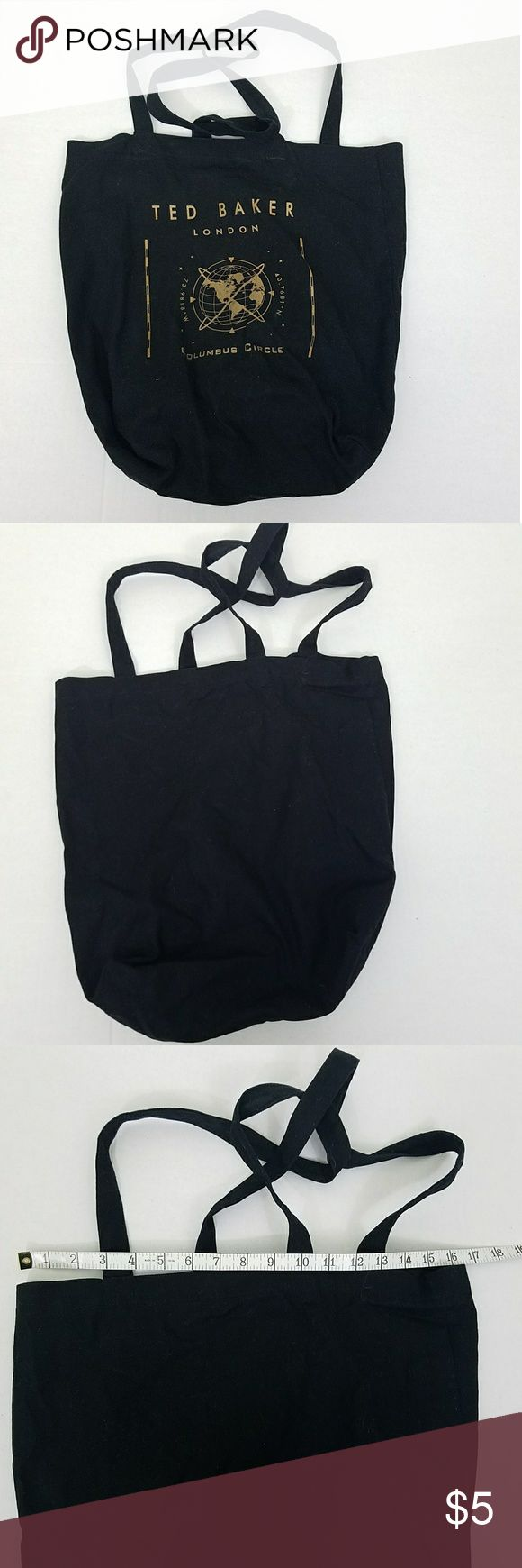 Ted Baker Canvas Bag Carry your groceries, lunch or nappies in this is cute canvas Ted Baker bag!  5/24/17  Bin E Ted Baker London Bags Totes