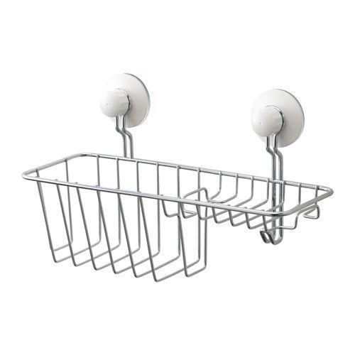 IMMELN シャワー/ソープバスケット フック付き, 亜鉛メッキ - IKEA