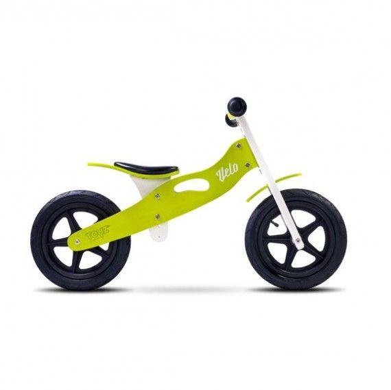 Toyz Drewniany rowerek biegowy Velo zielony