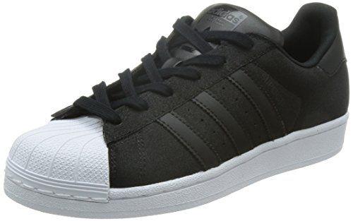 adidas Superstar Damen Sneakers, schwarz / weiß, 43 1/3 EU - http://on-line-kaufen.de/adidas-originals/43-1-3-eu-adidas-superstar-damen-sneakers
