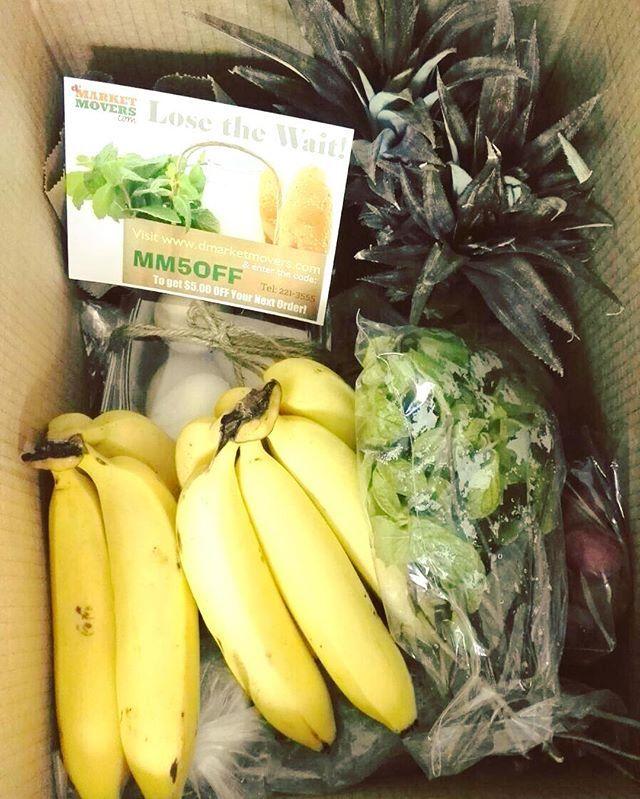 zpr Fresh Delivery to your door @dmarketmovers #youclick #wedeliver #farmfresh #healthy #eatlocal #herbs #fruit #dairy #eggs #freerange #agribusiness #shoponline #ecommerce #trinidadandtobago #dmarketmovers