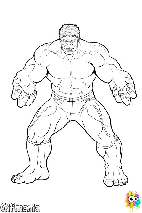 Hulk Buster Coloring Pages | Hulk coloring pages, Avengers ...