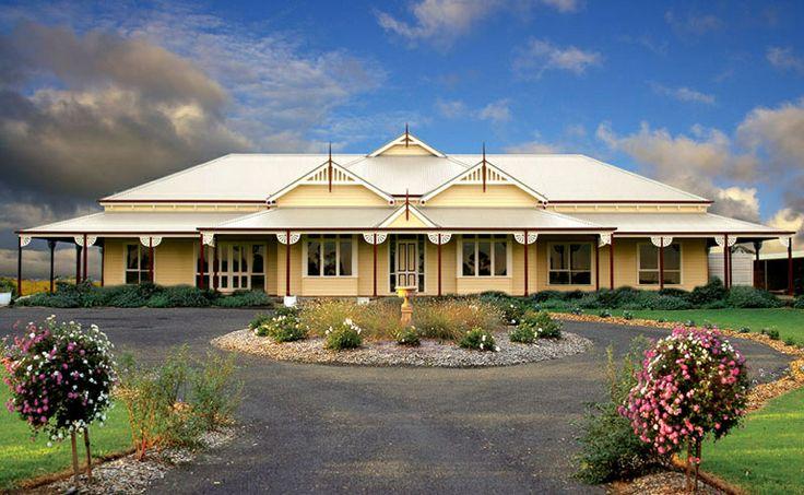 Australian homestead australian homestead pinterest for Australian country style homes