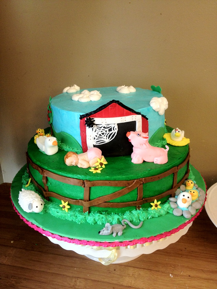 Charlottes web baby shower cakeShower Ideas, Charlotte Shower, Baby Shower Cakes, Charlotte Web Baby Shower