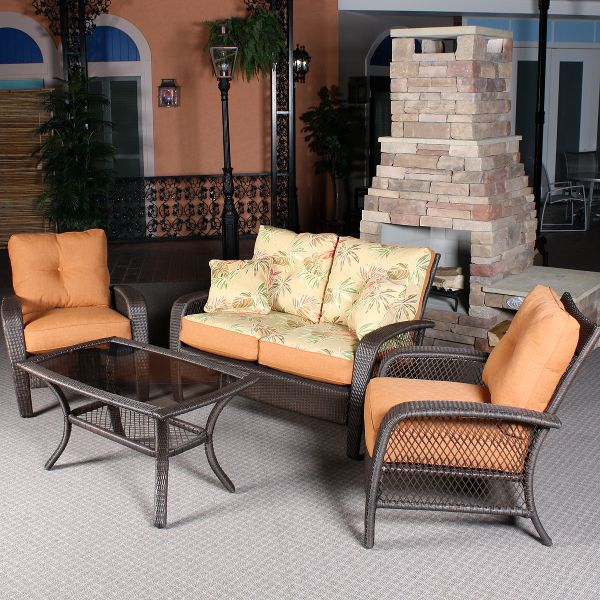 5 Piece All Weather Wicker Martinique By Agio. Agio Patio FurnitureExterior  ...