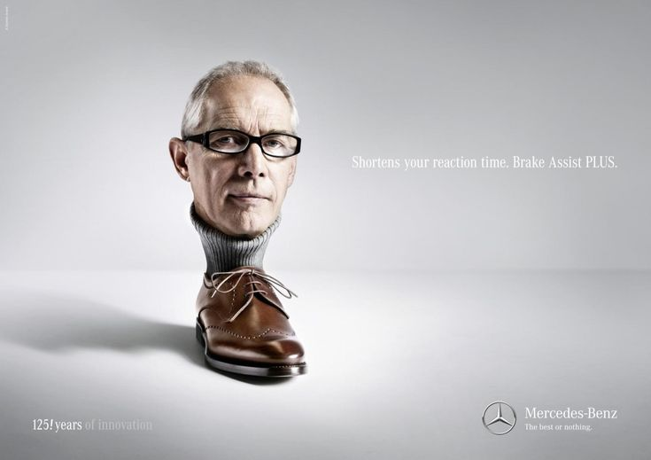 This Mercedes Benz advertisement done by Limmat in ...