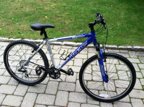 buy Trek 3900 Series 3 mans aluminum mountain bike mens blue