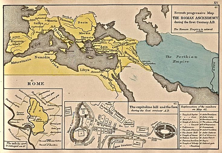 The Roman Ascendency during the first Century B.C.
