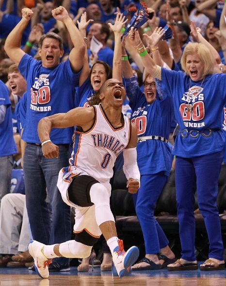 Russell Westbrook of the OK Thunder (May 2012)