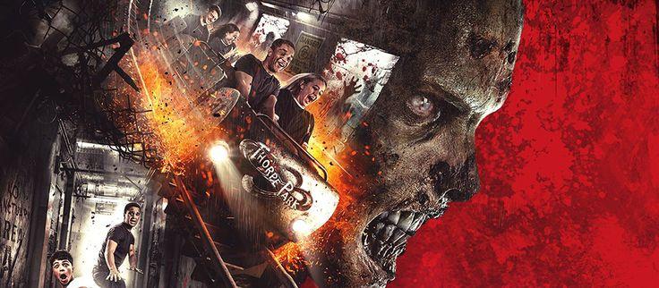 The Walking Dead : bientôt une montagne russe aux couleurs de la série