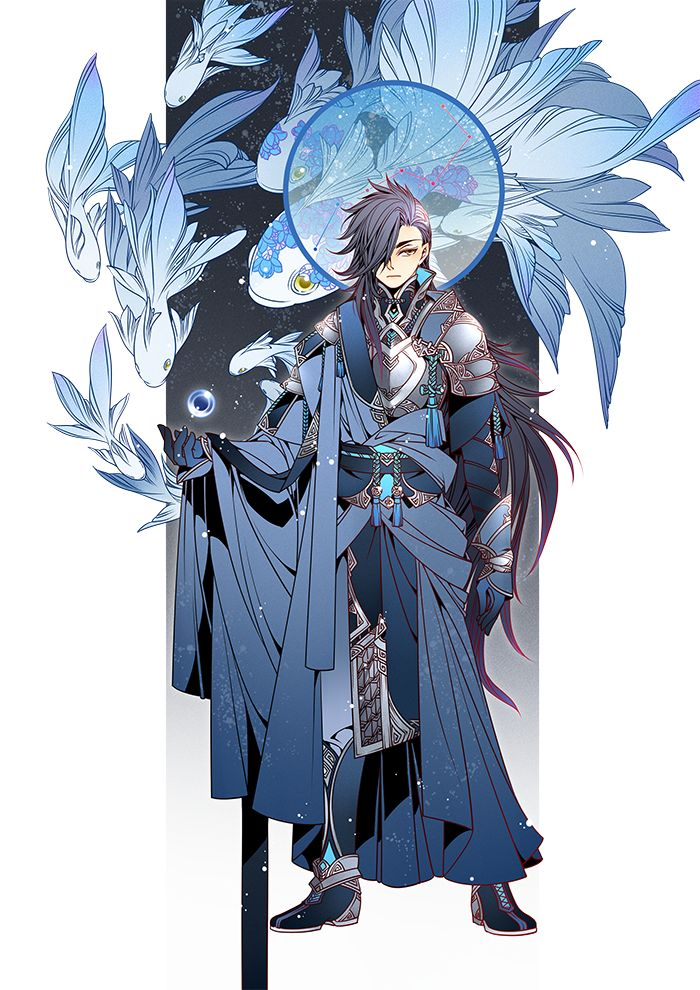 J Anime Character : Best images about j角色 魔法能量型 on pinterest necromancer