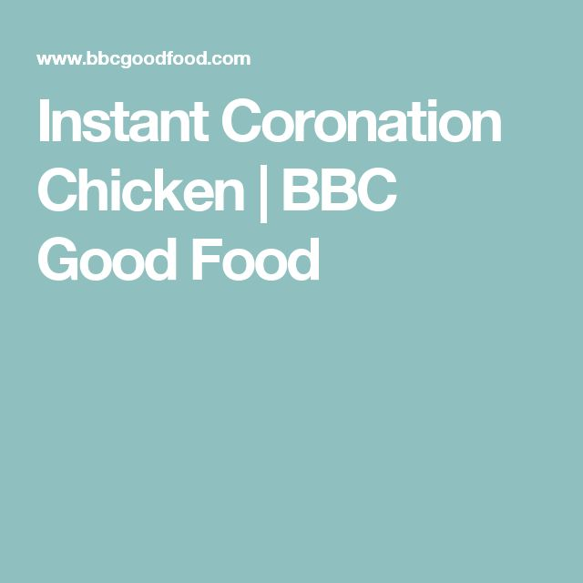 Instant Coronation Chicken | BBC Good Food