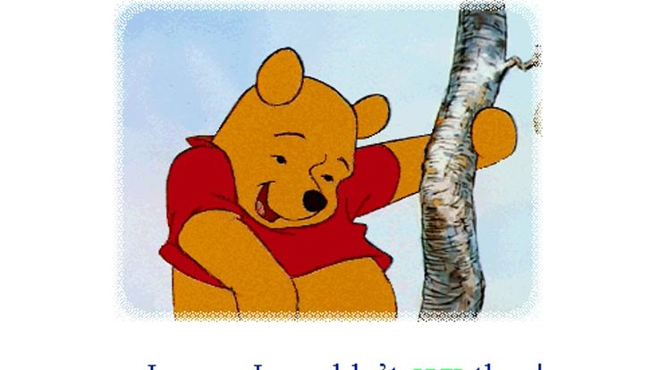 winnie the pooh and the honey tree  rumbly in my tumbly