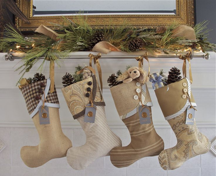 Christmas stockings you can buy, gorgeous! 2013 Christmas Stocking Round-Up