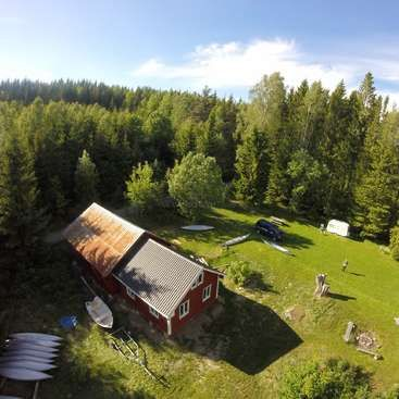 Workaway in Sweden. small canoe rental with a small campsite in a beautiful location