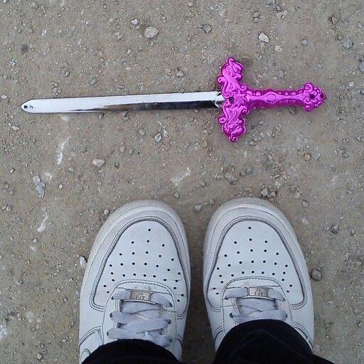 Pink swords