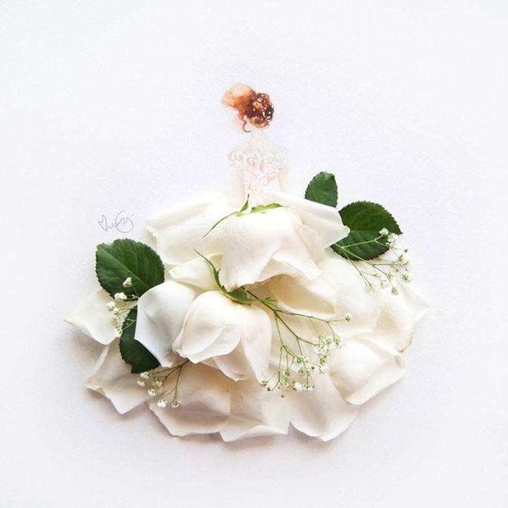 Фантастическое искусство из цветов от Лимзи | Популярнее нет