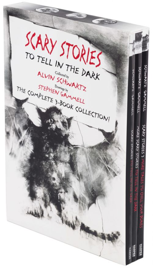 After controversy HarperCollins this week re-released Scary Stories to Tell in the Dark with original Stephen Gammell artwork. http://ift.tt/2uJnUF2