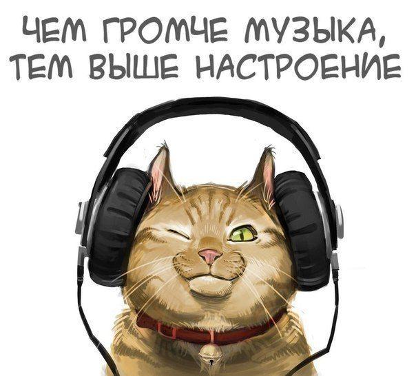 Прикольные картинки про музыку вк