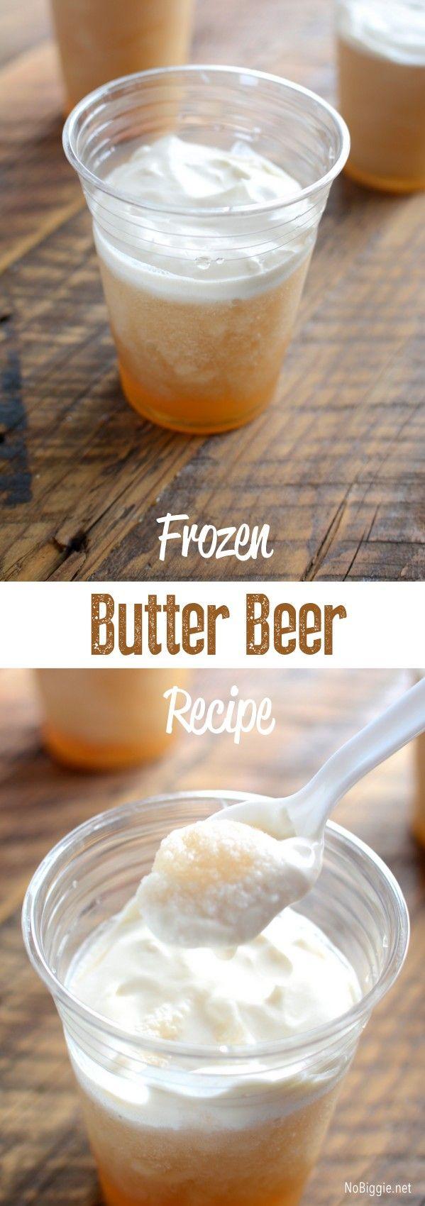 Frozen Butter Beer Copy Cat Recipe | NoBiggie.net