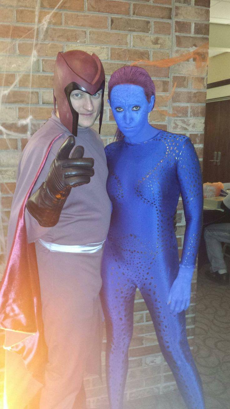DIY Xmen Mystique and Magneto Costume