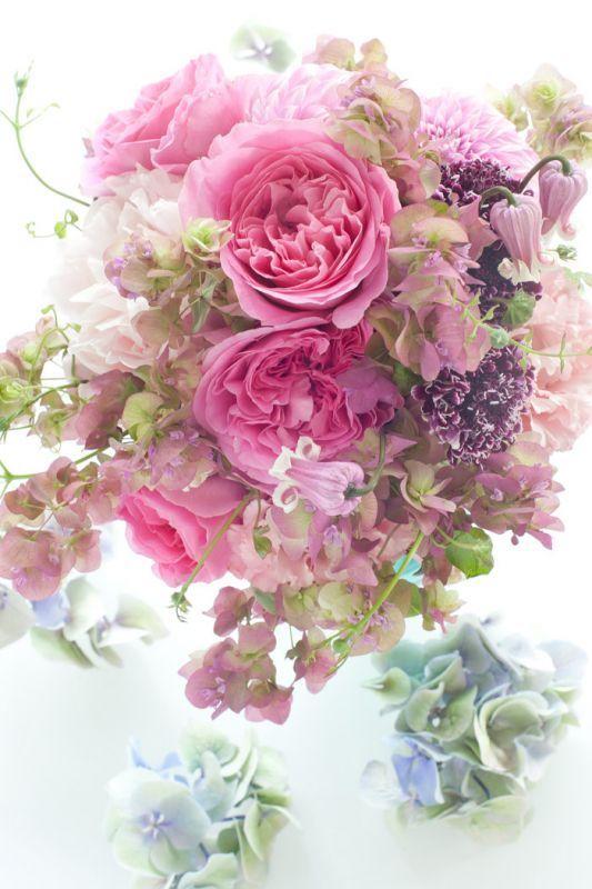 Paris style bouquet jardin du I'llony online store
