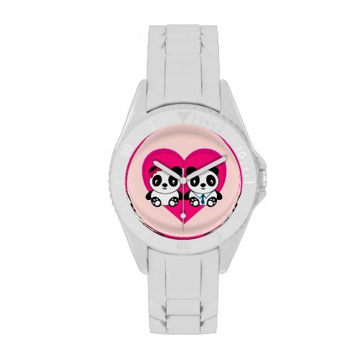 Pandas in Love Watches