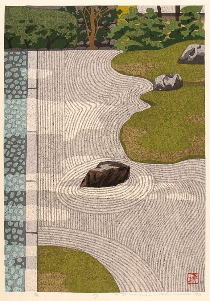 n. IDO, Masao (1945-). Garden.