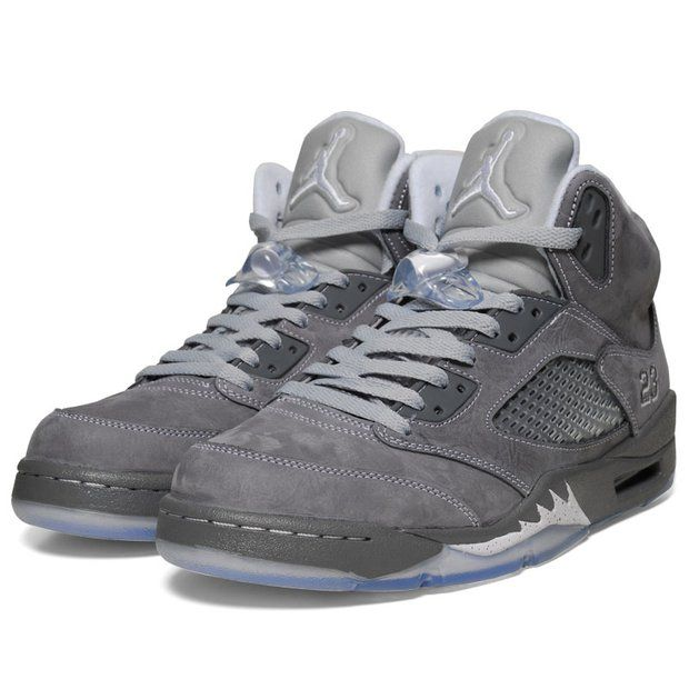 These are crazy!!!  Fancy - Nike Air Jordan V Retro - Wolf Grey