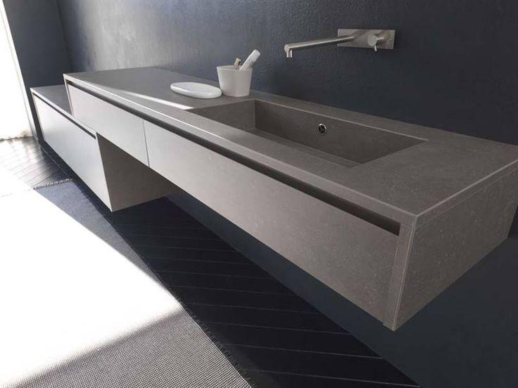 Kerlite cladded bathroom by Modulnova, Milano - Italy