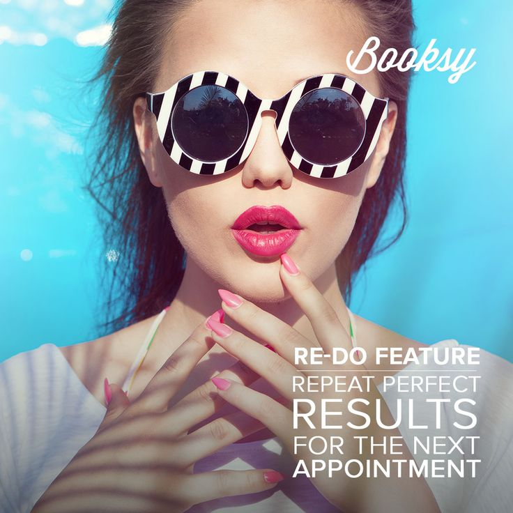 Get ready for the Summer! With Booksy you can always repeat your perfect work for the next appointment.