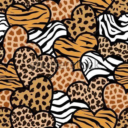 light pink cheetah print wallpaper
