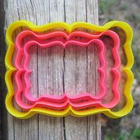 """Cookie cutter """"The plate №43"""" Set of 7, 9 and 11 cm"""