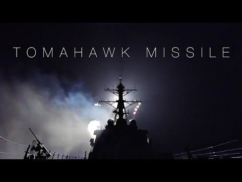 US Navy Destroyer Launching Tomahawk Missiles – USS Ross