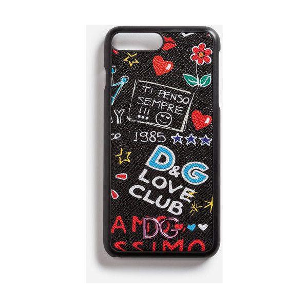 b400dbc65961 Dolce   Gabbana Iphone 7 Plus Cover in Printed Dauphine Calfskin... (320. Tech  AccessoriesIphone ...