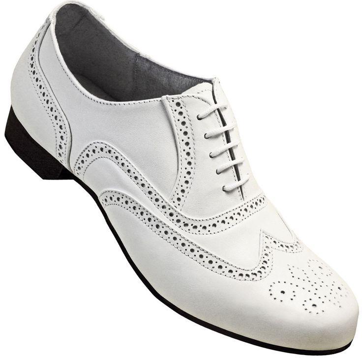 Park Art|My WordPress Blog_Mens Black And White Oxford Dress Shoes
