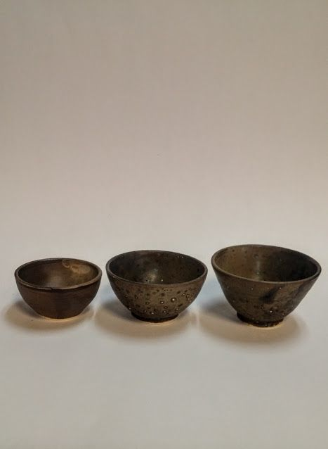 Earthy + textured ceramic bowls by BScott Ceramics available at Harold + Ferne: The Local Goods Co.