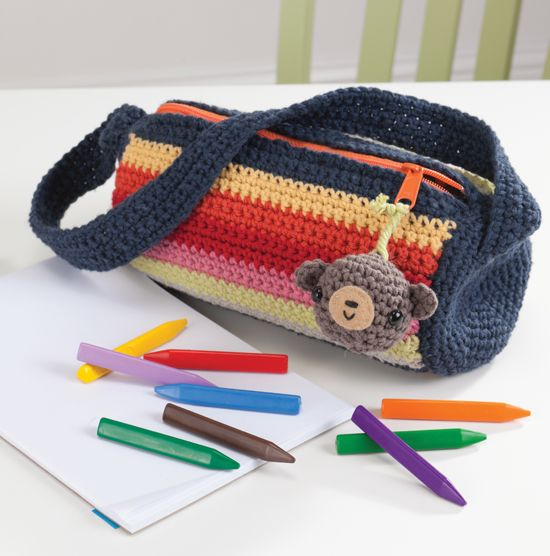 Pencil case.  Good for using up scraps.
