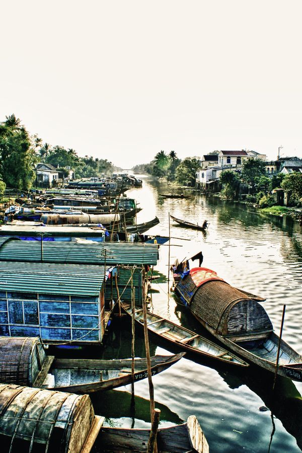 Hue Village in Vietnam surely must be one of the most peaceful places to live…
