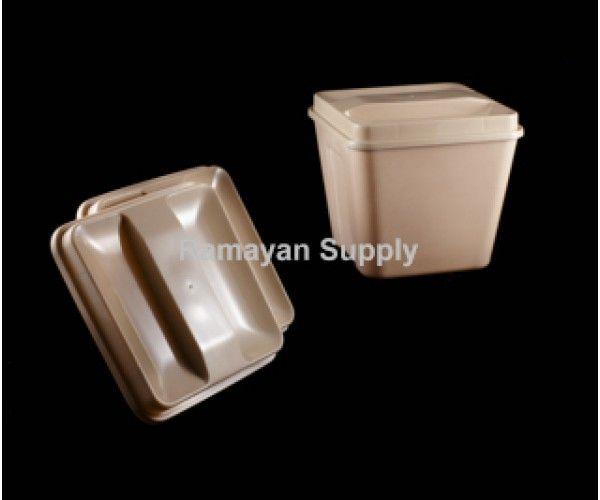Shop Ice Bucket Lids Square - Beige Ramayan Supply Hotel Supplies Ice Bucket Lid  Beige 2.0 lbs Online At Ramayan Supply.