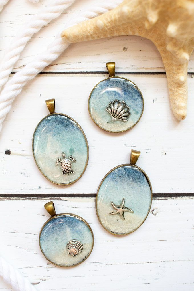 Take a little summer with you all year round with these simple seas …   – craft